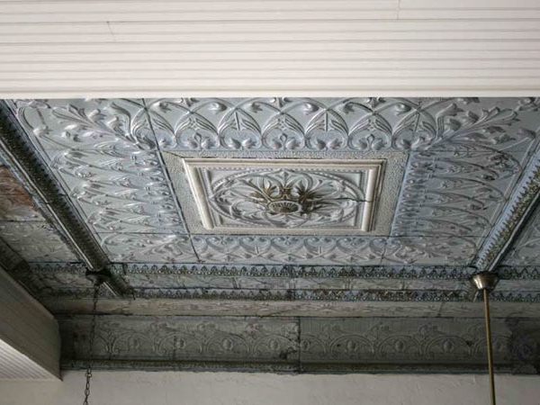 First National Bank - Stephenville, Texas - Metal ceiling