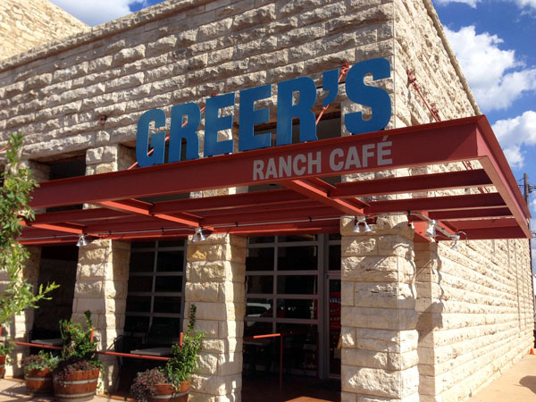 Greer's Ranch Café - front